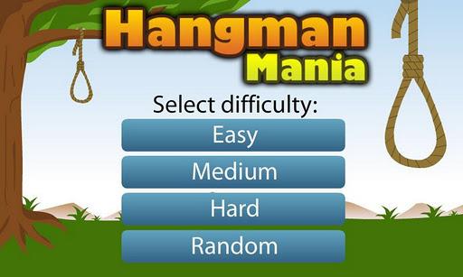 【免費休閒App】Hangman Mania LITE-APP點子