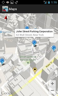 GPS Car Park Finder - screenshot