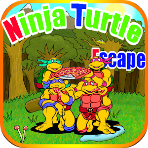 Hack Ninja Turtle Escape game