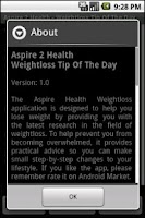 Screenshot of Aspire 2 Health Weightloss