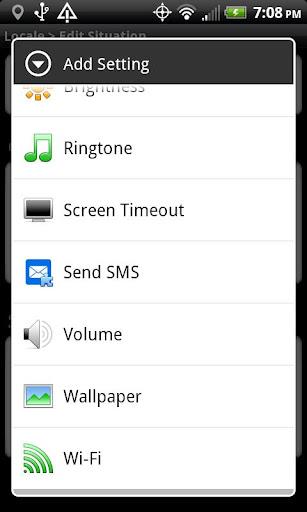 Locale Send SMS Plugin