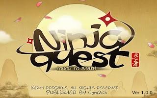 Screenshot of Ninja Quest