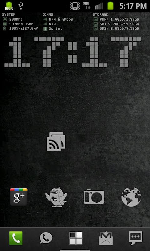 System Info Live Wallpaper