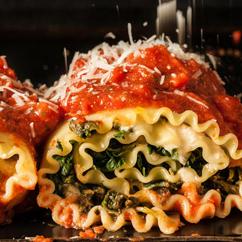 Hefty Spinach Lasagna Roll-Ups