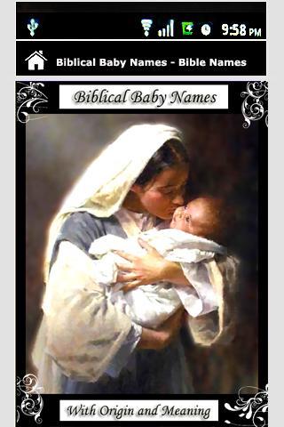 Biblical Baby Names Bible Name