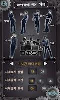 Screenshot of Beast(B2st) Alarm Clock