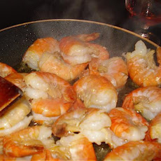 Tiger Prawns in Garlic Butter