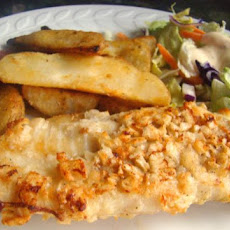 Low Fat Crispy Fish and Chips