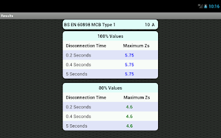 Screenshot of Max Zs Values