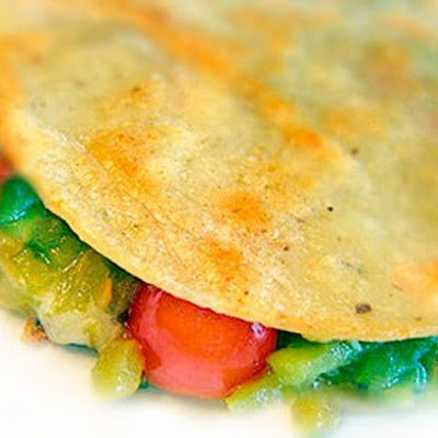 Easy Green Chile Quesadilla Recipe with Sprouted Corn Tortillas
