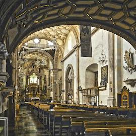 San Agustin, Celaya by Pablo Muniz - Buildings & Architecture Other Interior ( celaya, mexico, guanajuato, travel, san agustin )