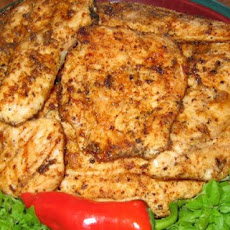 Charcoal Grilled Chicken Breast