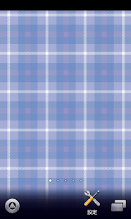 water blue plaid wallpaper - screenshot