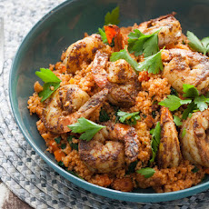 North African Spiced Shrimp with Couscous