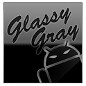 GOKeyboard Theme Glassy Gray icon