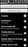 Screenshot of LiveView Music Plugin
