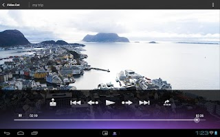 Screenshot of Media players