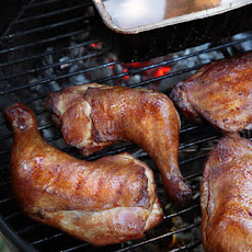 Hickory-Smoked Chicken Recipe