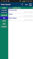 Screenshot of Note Stacks: Notepad Notebook