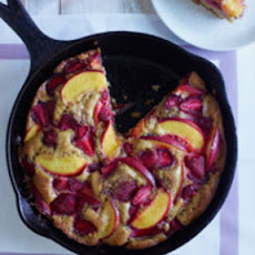 Skillet Summer Fruit Cobbler