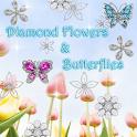 Diamond Flowers & Butterflies icon