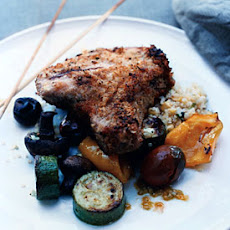 Grilled Breaded Pork Chops