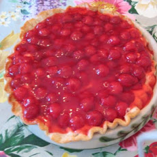 Fudgy Cherry-Cream Cheese Pie