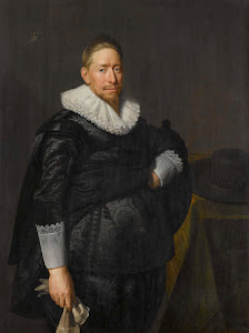 RIJKS: Paulus Moreelse: Portrait of a Man, Probably from the Pauw Family 1625