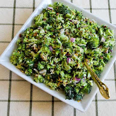 Sweet and Sour Broccoli Salad
