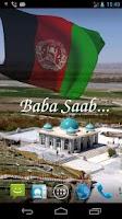 Screenshot of 3D Afghanistan Flag LWP