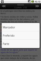 Screenshot of Santa Biblia RVA (Holy Bible)