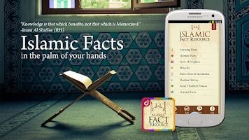 Screenshot of Islamic Fact Resource