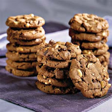 Chocolate Chunk-Peanut Cookies