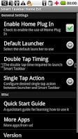 Screenshot of Smart Taskbar 1 Home ext