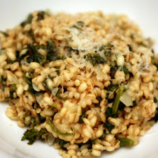 Dinner Tonight: Farro Risotto with Rapini