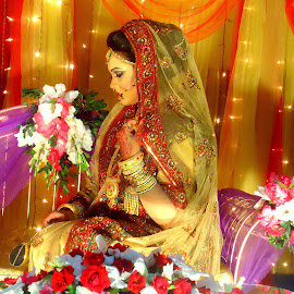 Bride by Almas Tushar - Wedding Bride ( mehedi, rafat.nayeem, niaz, toha )