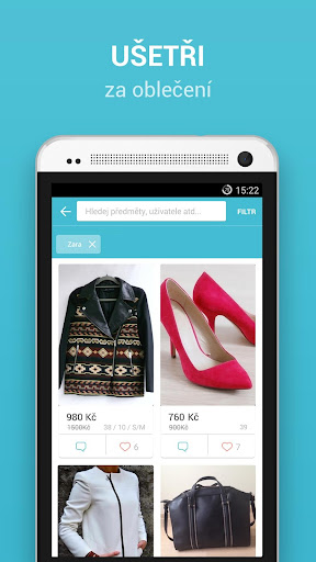 vinted-cz for android screenshot