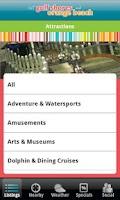 Screenshot of Gulf Beaches