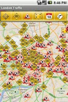 Screenshot of London Traffic LIVE