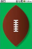 Screenshot of Football Throw