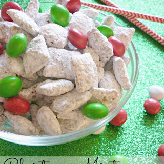 Christmas Mint Muddy Buddies