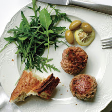Lamb Sausage Patties with Fresh Mint, Feta, and Garlic