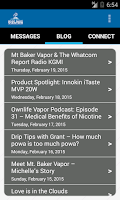 Screenshot of MtBakerVapor