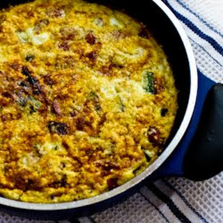 Frittata with Zucchini, Sun-Dried Tomatoes, and Sausage