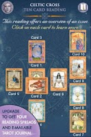 Screenshot of Goddess Tarot Lite
