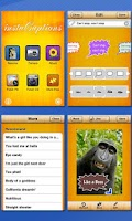 Screenshot of InstaCaptions