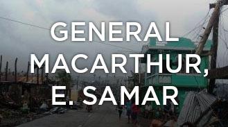 General MacArthur, Eastern Samar