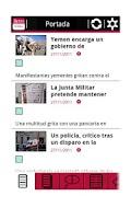Screenshot of RSS Público
