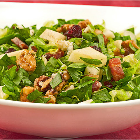 Chopped Salad with Apple, Bacon and Blue Cheese