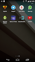 Screenshot of L Theme for Android